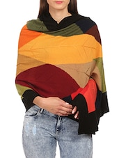multi wool stole -  online shopping for stoles