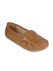 brown slip on loafer -  online shopping for Loafers