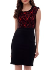 black laced dress -  online shopping for Dresses