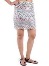 multicolored sequined skirt -  online shopping for Skirts