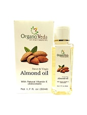 OrganoVeda Almond seed Oil 50ml -  online shopping for body oil