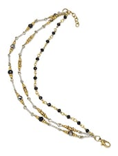 Gold Rhodium Plated Anklet - By