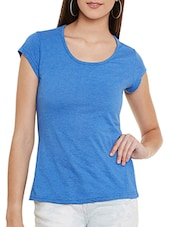 blue jersey regular tee -  online shopping for Tees