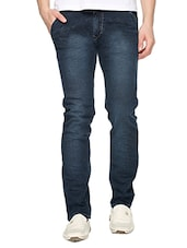 blue denim plain jeans -  online shopping for Jeans