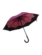 Murano Single Fold Double layer inside flower print designer umbrella -  online shopping for Umbrellas