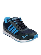 black synthetic lace up sports shoe -  online shopping for Sports Shoes