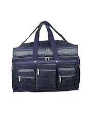 blue leatherette luggage -  online shopping for Luggage