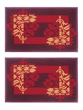 BIANCA Set of 2 Door Mat with HD Rubber Backing -  online shopping for Doormats