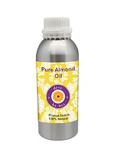 Pure Almond Oil 630ml (Prunus Dulcis) 100% Natural Cold Pressed - By