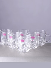 Glass Edged Mug (Set Of 6) - By