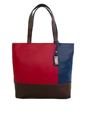 Multicolor Leatherette Shoulder Bag - By - 1228214