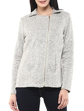 grey fleece jacket -  online shopping for jackets