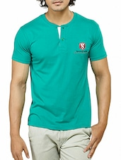 green cotton tshirt -  online shopping for T-Shirts