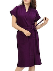 ELEVANTO Terry Cotton Women's Bath Robe -  online shopping for bath robes