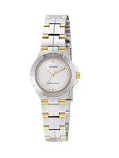 Casio Enticer LTP-1242SG-7CDF Analog Steel Watch -  online shopping for Wrist watches