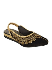 black velvet juti -  online shopping for Jutis & Mojaris