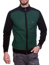 green acrylic pullover -  online shopping for Pullovers