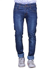 dark blue denim jeans -  online shopping for Jeans