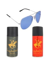 Beverly Hills Polo Club Classic Deodorants (Aristocrat, Regal) with Blue Aviator -  online shopping for Gift Sets