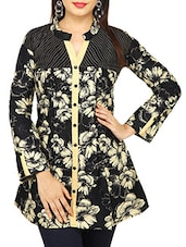 black floral cotton regular shirt -  online shopping for Shirts