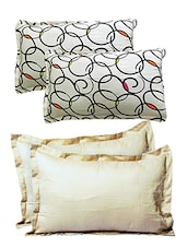 Always Plus Set of 4 Cotton Multicolor Pillow cover/Pillow protector -  online shopping for pillow covers