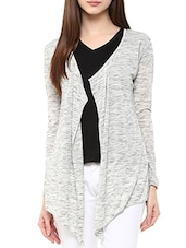 grey cotton shrug -  online shopping for shrugs