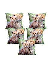 Set Of 5  Printed Cushion Cover - By