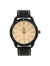 Black Analog Wrist Watch For Men -  online shopping for Analog Watches
