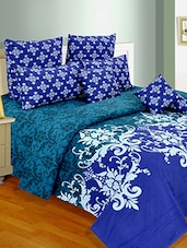 100% Cotton Double Bedsheet with Two Pillow Covers -  online shopping for bed sheet sets