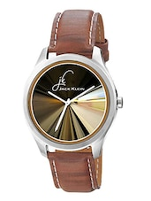 Jack klein GRP-1216 Synthetic Leather Analog Watch -  online shopping for Analog Watches