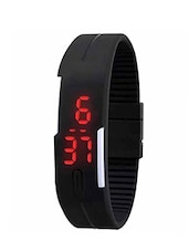 Silicone Strap Digital Wrist Watch -  online shopping for Digital watches