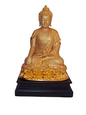 golden meditated buddha -  online shopping for Buddha