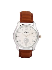 Caio Brown Round Analog Men's Watch -  online shopping for Analog Watches