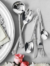 Set Of 27 Silver Cutlery Set - By