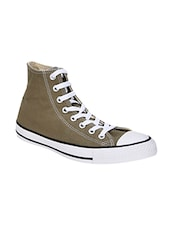 brown rubber lace up sneakers -  online shopping for Sneakers