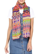 multi polyester stole -  online shopping for Stoles