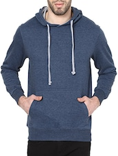 blue fleece sweatshirt -  online shopping for Sweatshirts