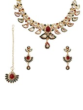 Multi Gold Plated Necklace - By