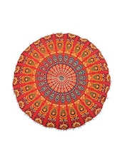 "32"" Large Mandala Design Cotton Cushion Cover -  online shopping for Cushion Covers"