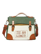 Multi canvas printed satchel -  online shopping for Satchels