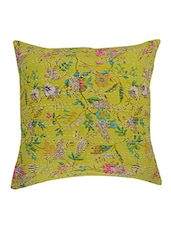 "Indian Ethnic Vintage Kantha Cushion Cover Throw 16"" Decorative Pillow Shams -  online shopping for Cushion Covers"