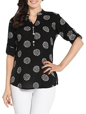 black cotton tunic -  online shopping for Tunics