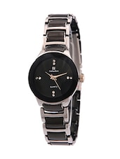 Hot Sale 2016 Luxury Brand Top Quality Black&Silver color Women Quartz Watch fashion jagat Women Dress Watches -  online shopping for Wrist watches