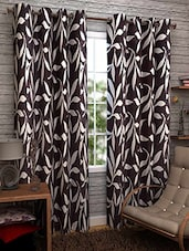MN Decor Beautifull Set Of 2 Polyester Window Curtain - By