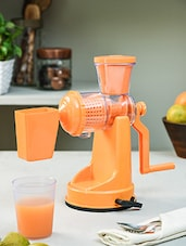 Orange fruit and vegetable juicer -  online shopping for Other Accessories