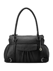 black leather handbag -  online shopping for handbags