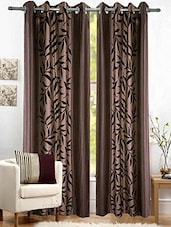 MN Decor Beautiful Long door polyester curtain -  online shopping for Curtains
