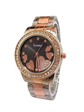 Jay Creation Black Heart Women's Analog Watch -  online shopping for Wrist watches