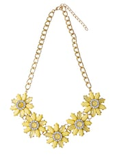 Yellow Metal Other Necklace - By