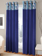 Modern Fab Set of 2 Polyester Multicolour Door Curtains -  online shopping for Curtains